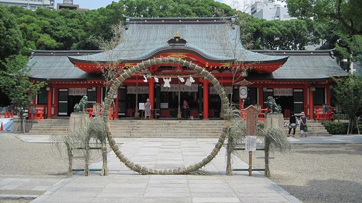 茅の輪-生田神社