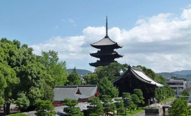 錫杖のお守りは東寺でした!
