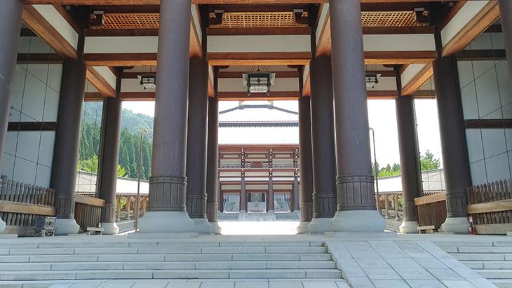 越前大仏 清大寺 入り口