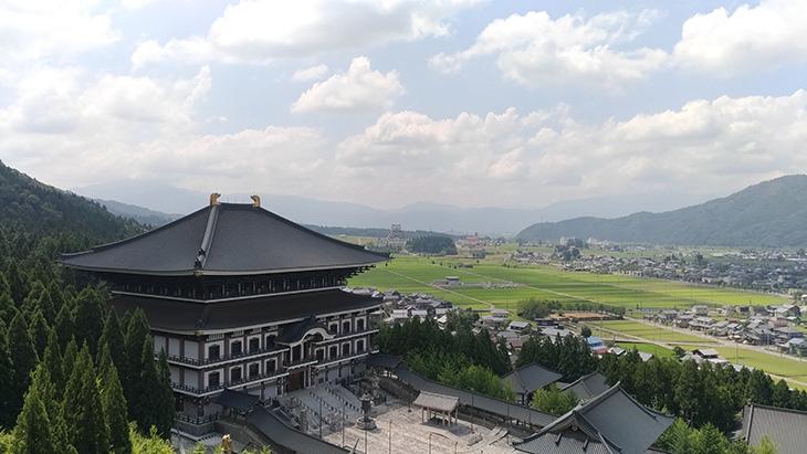 五重の塔 眺め 大仏殿