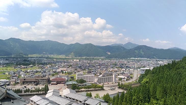 清大寺 五重の塔 眺め