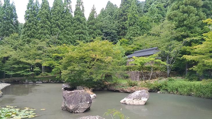 清大寺 日本庭園